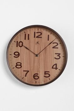 This would make a rad present for J. I could either use a 2 dollar Ikea clock or a clock kit from Michaels as well as some veneer or thin wood paper