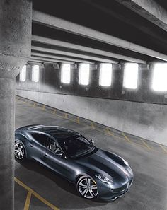 Your Ride's Here: Cars: GQ  Fisker Karma