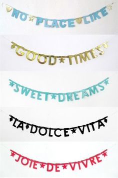 Ryann wanted  Adorable banners. Great decor for kids room.