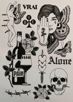 Flash Art Tattoos, Body Art Tattoos, Sleeve Tattoos, Arabic Tattoos, Kritzelei Tattoo, Doodle Tattoo, Mini Tattoos, Black Tattoos, Small Tattoos