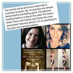 Fitness enthusiast like myself are loving the results they get from thrive!  #workout #fitchicks #fitmom #workoutathome #fitfam #girlswholift #eatclean #mealprep #motivation #weightloss #beforeandafter