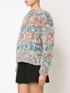 Chloé open knit sweater