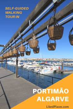 Explore at your own pace this tour in Portimão, Portugal, the interesting places in the city and surroundings with suggestions on what to eat. World Travel Guide, Europe Travel Guide, Europe Destinations, Travel Guides, Travel Advice, Travel Maps, Algarve, Countries Of The World, Walking Tour