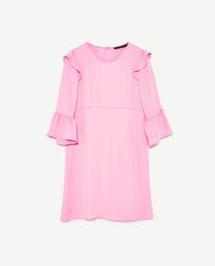 FRILLED DRESS from Zara (under $50)