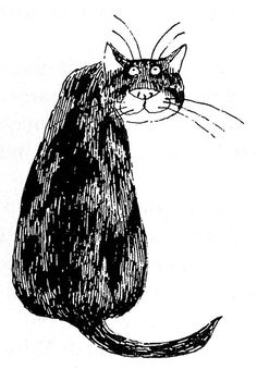 A Gorey illustration from Old Possum's Book of Practical Cats by T. S. Eliot. (Photo: Courtesy of the Edward Gorey Charitable Trust)