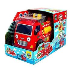 Tayo The Little Bus Talking Frank Fire Truck  Friction Powered Car Korean Toy #TheLittleBusTayo
