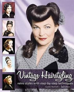 I want this book! Though, Id did get one similar for my birthday ;) #50s #hair