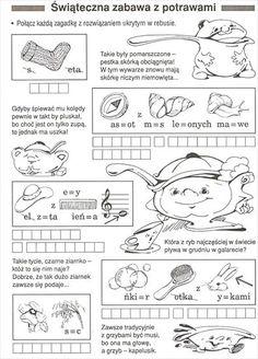 Użyj STRZAŁEK na KLAWIATURZE do przełączania zdjeć Learn Polish, Polish Language, Early Education, Science For Kids, Montessori, Poland, Homeschool, Bullet Journal, Learning