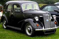 Ford Prefect car My dads fist car. Classic Cars British, Old Classic Cars, British Car, Ford Motor Company, Ford Anglia, Old Lorries, Veteran Car, Lotus Car, Cars Uk