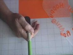 transfer letters from your #Cricut mat to your project in perfect alignment using drywall tape (magic mesh)