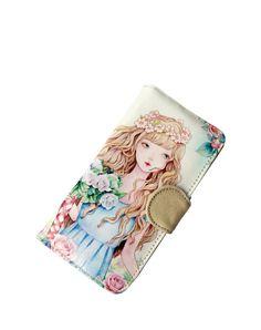 #VIPme #wallet 👜Aesthetic Princess Beauty Printing Canvas Wallet. Find more fashion inspiration at VIPme.com