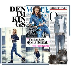 """Denim Kings"" by chareznasheer on Polyvore"