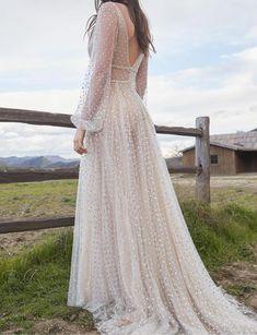 How To Dress For A Wedding, Sheer Wedding Dress, Dream Wedding Dresses, Wedding Gowns, Wedding Bells, Bride Dresses, Dress Lace, Wedding Attire, Bridesmaid Dresses