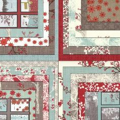 5 inch charm pack Winter's Lane Moda Fabric by Kate by quilttaffy, $8.95