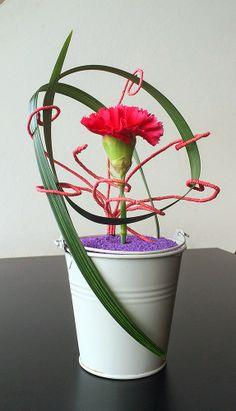 Oriol Bargalló: Arte floral - Un dianthus diferente