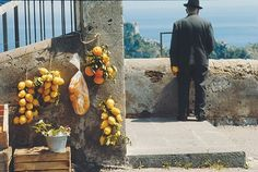 Amalfi, Italy, © René Burri/Magnum Photos, from the book Impossible Reminiscences. Cabana Magazine, Street Photography, Art Photography, Fotojournalismus, Amalfi Italy, Queens Nyc, Oranges And Lemons, Cultural Events, Magnum Photos