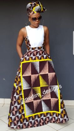 latest african fashion look 193 Modern African Dress Designs, African Dress Patterns, African Dresses For Women, African Fashion Dresses, African Attire, African Wear, African Outfits, African Clothes, African Style