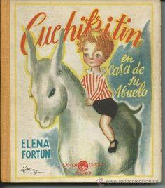 CUCHIFRITIN EN CASA DE SU ABUELO.-ELENA FORTUN.-EDITOR AGUILAR