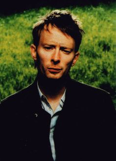 Thom Yorke - #Radiohead - London, 2003-05-26, session for Mojo magazine - By Kevin Westenberg