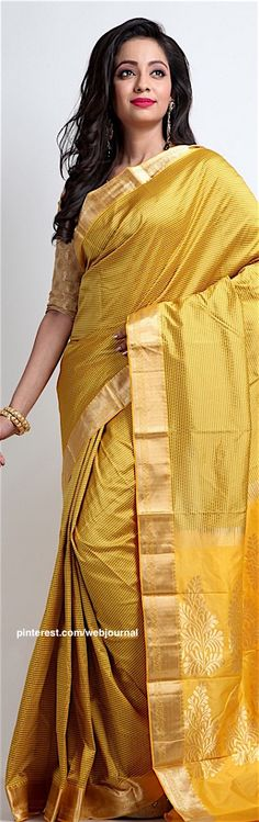 Handwoven South Indian silk from Indiansilkhouse.com