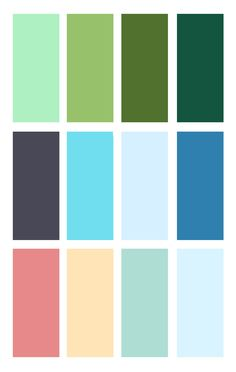 More colours to get inspired by! More of a vintage tone this time.