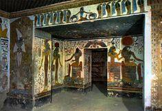 Grand Temple d'Abou Simbel - antichambre