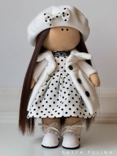 ИНТЕРЬЕРНЫЕ ИГРУШКИ РУЧНОЙ РАБОТЫ. ДЕКОР. СПб Doll Crafts, Diy Doll, New Dolls, Barbie Dolls, Fabric Toys, Sewing Dolls, Waldorf Dolls, Soft Dolls, Stuffed Animal Patterns
