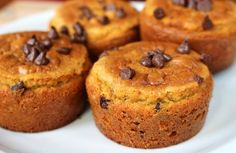 VitaFiber Low-carb Chocolate Chip Muffins | Fitnesstreats.com Fitnesstreats.com