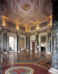 Syon anteroom by Robert Adam, eighteenth century