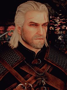 Geralt of Rivia Yeah I have the hots for a fictional character, what's new?