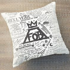 Hey, I found this really awesome Etsy listing at https://www.etsy.com/listing/196693453/fall-out-boy-lyric-pillow-case-rectangle