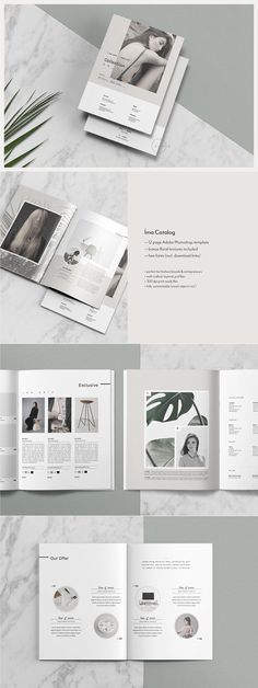 Catalog + Magazine PSD • Íma by Nonola on @creativemarket