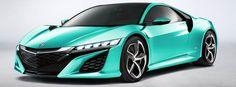 My New Acura NSX