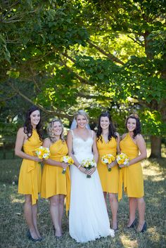 Excellent Image of Cocktail Party Wedding Cocktail Party Wedding Golden Yellow Athletic Yellow Bridesmaids Convertible Wrap Twist Cocktail Party Decor, Cocktail Wedding Reception, Pale Yellow Bridesmaid Dresses, Yellow Dress, White Fascinator, Wedding Fascinators, Wedding Flower Decorations, Wedding Centerpieces, Yellow Wedding
