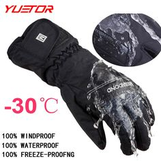 c4ff00ac24df4 30 degree unisex warm snowboard gloves for winter men snow windproof guante  nieve ski gloves-in Skiing Gloves from Sports & Entertainment on  Aliexpress.com ...