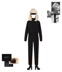 """""""Untitled #452"""" by maryisnotmyname ❤ liked on Polyvore featuring Vetements, Yves Saint Laurent and Maison Margiela"""