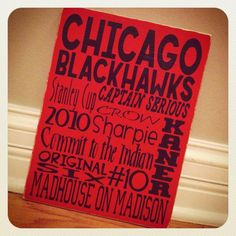 Chicago Blackhawks Sign