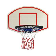 Basketballring mit Board Der Ball geht ins Netz 170239