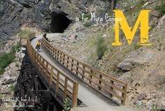 Beautiful BC from A to Z: M is for Myra Canyon - Have Blog Will Travel