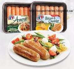 Coupons et Circulaires: 1$ sur emballage de saucisses Européenne et Italie...