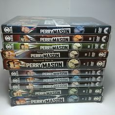 Pick One or More DVD Box Set: Raymond Burr is Perry Mason, TV Series Seasons Rome Tv Series, Perry Mason Tv Series, Raymond Burr, Box Sets, Law And Order, Movie Collection, Pick One, Seasons, Movies