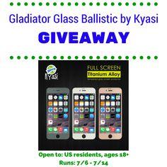Gladiator Glass Ballistic by Kyasi Giveaway | ends 7/14 | Dorky's Deals