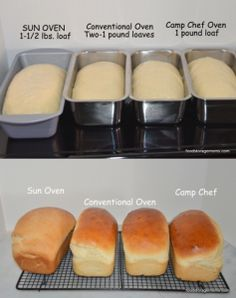 Three Ways To Bake Bread In Different Ovens - Solar ,Camp Stove/Oven & Conventional Oven | The Homestead Survival