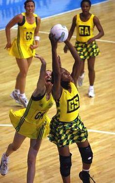 Jamaica Netball Team!