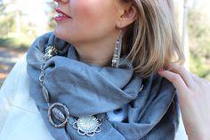 Infinity bufanda / collar de la bufanda / bufanda de por ImageYou