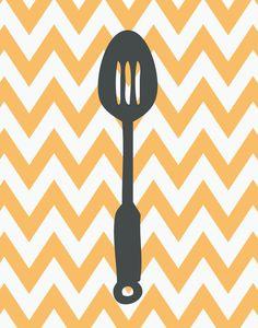 Tays Rocha: Printables - Ilustrações para cozinha