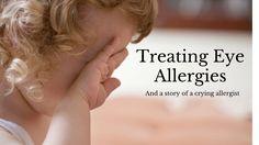 Treating Eye Allergies - A Fast, Easy Plan to Feel Better http://myallergyfriend.com/treating-eye-allergies/?utm_campaign=coschedule&utm_source=pinterest&utm_medium=My%20Allergy%20Friend&utm_content=Treating%20Eye%20Allergies%20-%20A%20Fast%2C%20Easy%20Plan%20to%20Feel%20Better
