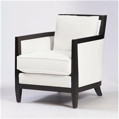 Upholstered Accents Ian Chair w/ Tapered Legs by Bernhardt at Baer's Furniture