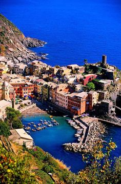Vernazza, Cinque Terre, Italy Places to travel to Places Around The World, Oh The Places You'll Go, Travel Around The World, Places To Travel, Travel Destinations, Places To Visit, Travel Tips, Dream Vacations, Vacation Spots