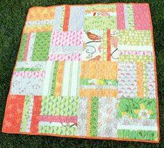 Simple Stripes Beginner Quilt | FaveQuilts.com